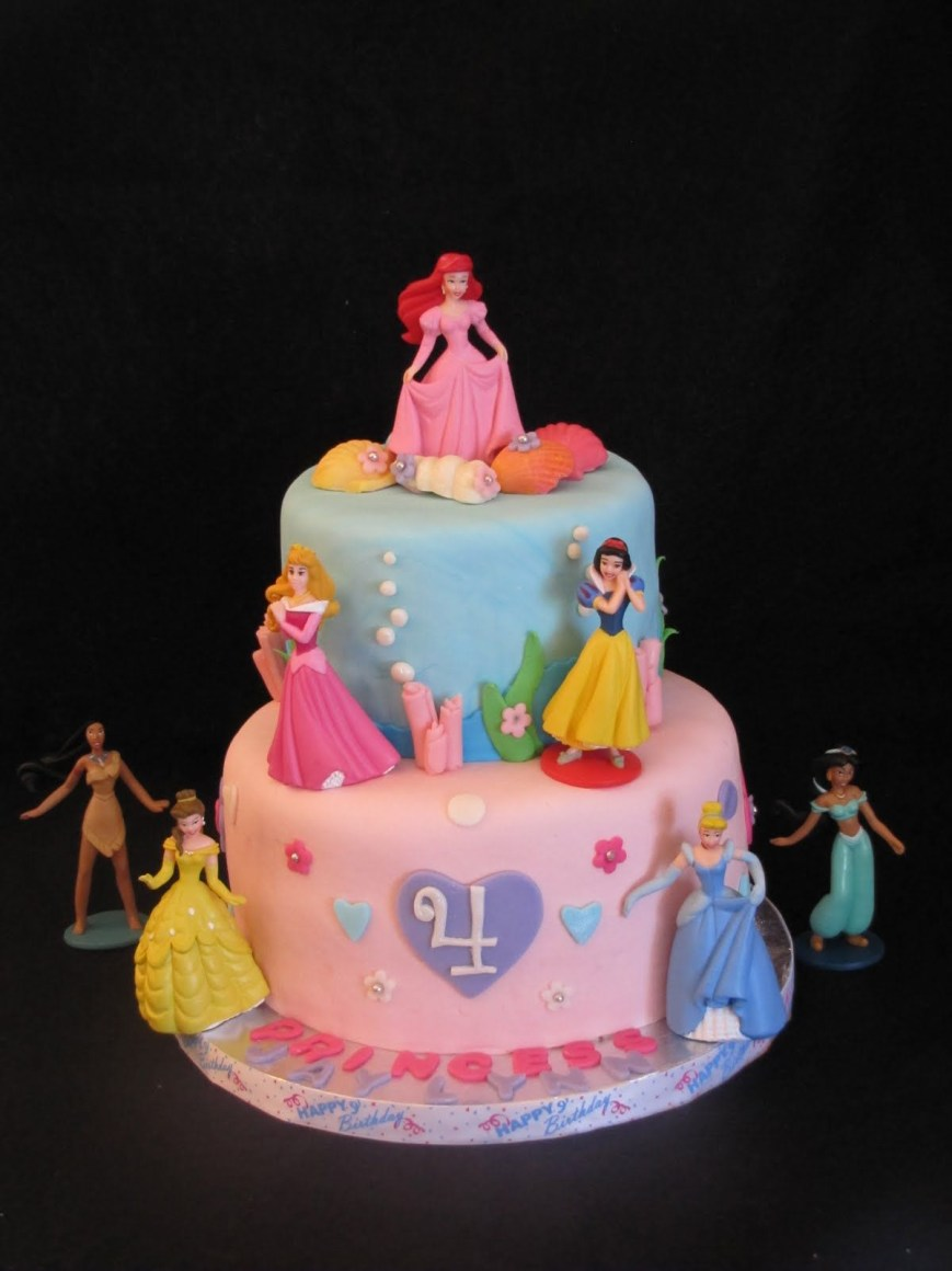Princess Birthday Cake Disney Princess Cakecan We Do This Ashley Phipps I Can Learn