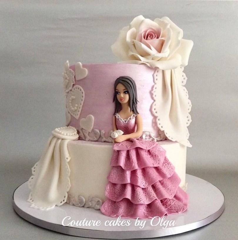 Princess Birthday Cake Princess Cake Couturecakesolga Cakes Cake Decorating