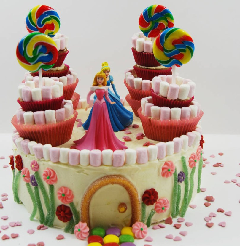 Princess Birthday Cake Princess Castle Birthday Cake Kit Craft Crumb