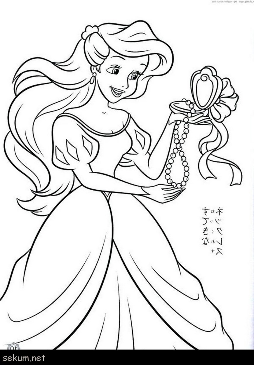 Princess Printable Coloring Pages Disney Princess Coloring Pages Free To Print Princess Coloring Pages