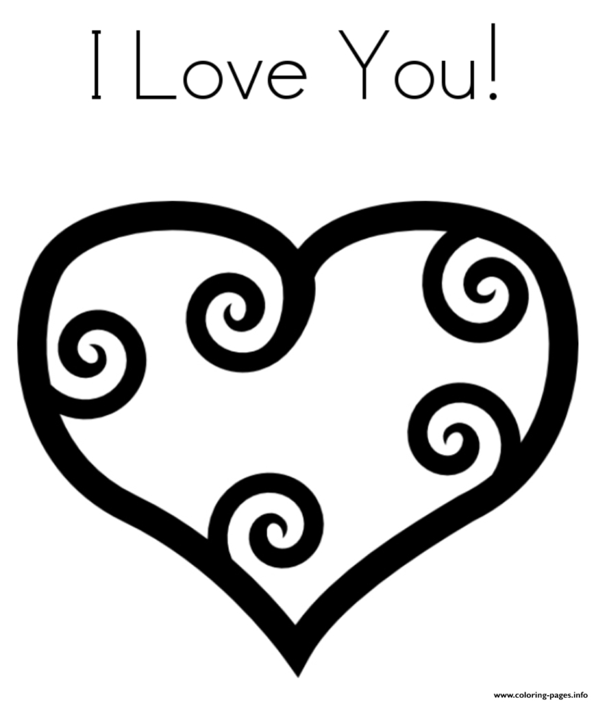 Printable Heart Coloring Pages Heart Coloring Pages Coloringrocks