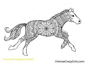 Printable Horse Coloring Pages Horses Coloring Pages Printable And Free Horse For Adults Advanced