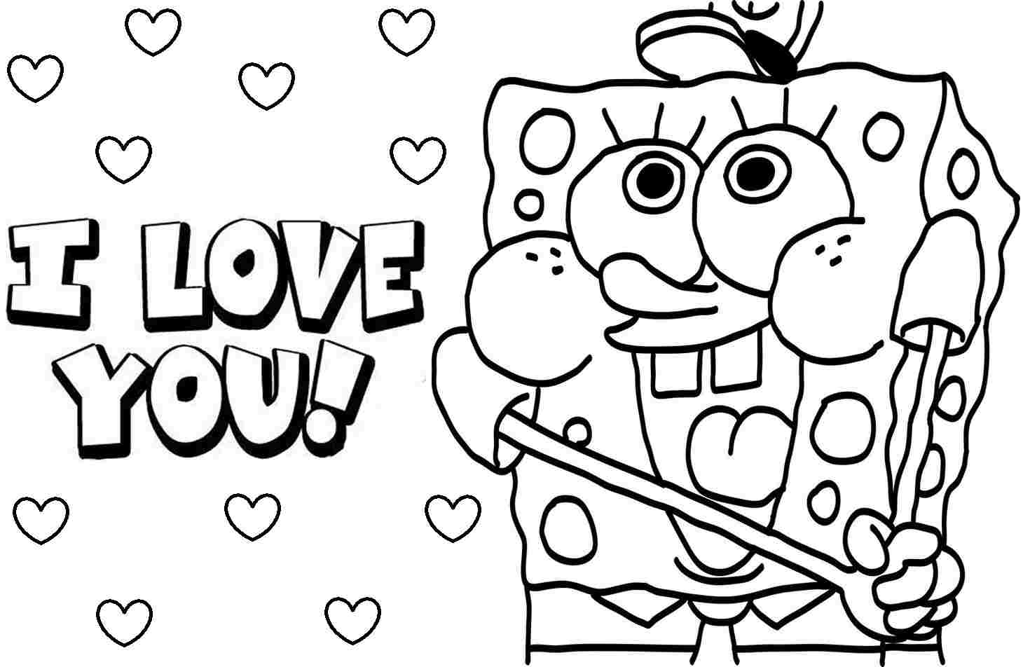 Printable Valentine Coloring Pages Valentines Coloring Pages For ...