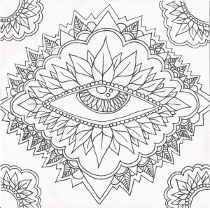 Psychedelic Coloring Pages Coloring Page Trippy Colorings Marvelous Printable Psychedelic