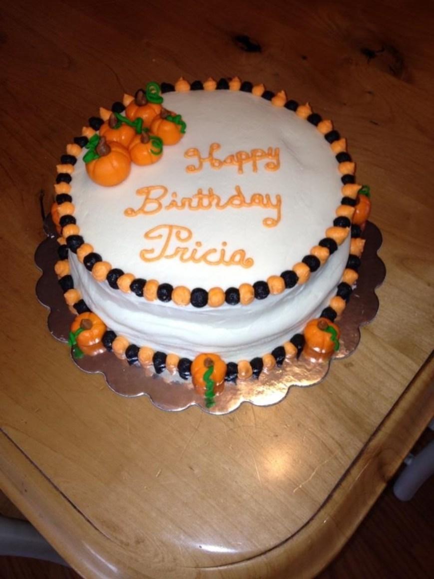 Pumpkin Birthday Cake Pumpkin Birthday Cake Cakecentral