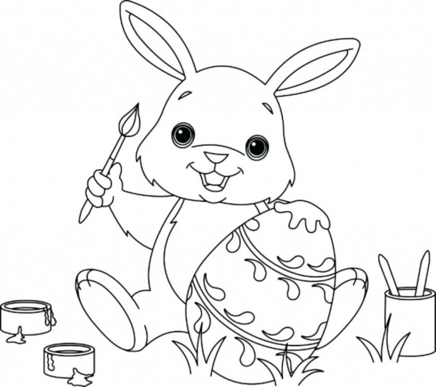 Rabbit Coloring Pages Incredible Bunny Rabbit Coloringages Tinyage Freerintable Cute
