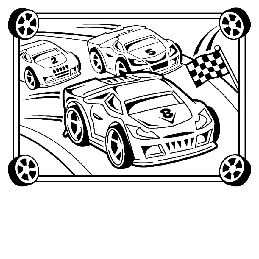 Race Car Coloring Pages Coloring Page Race Car Coloring Pages