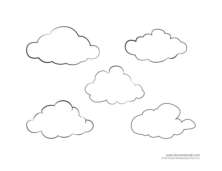 Rain Coloring Page Cloud Coloring Page Little Pages Rain Colouring Rainbowrolls Guy