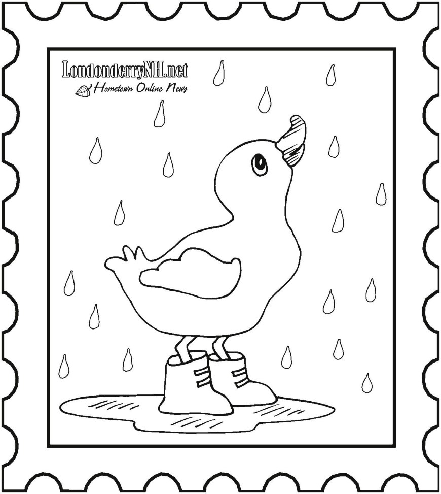 Rain Coloring Page Cloud With Rain Coloring Page Elegant Luxury Rain Coloring Page