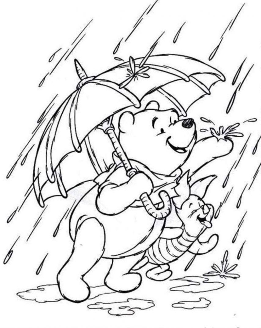 Rainy Day Coloring Pages 28 Collection Of Rainy Day Coloring Pages High Quality Free