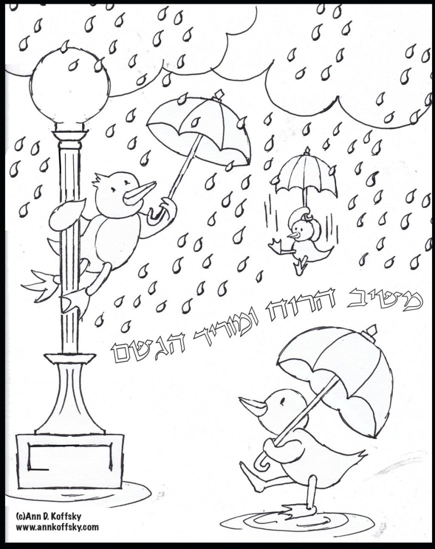 Rainy Day Coloring Pages Rainy Day Coloring Pages At Getdrawings Free For Personal Use
