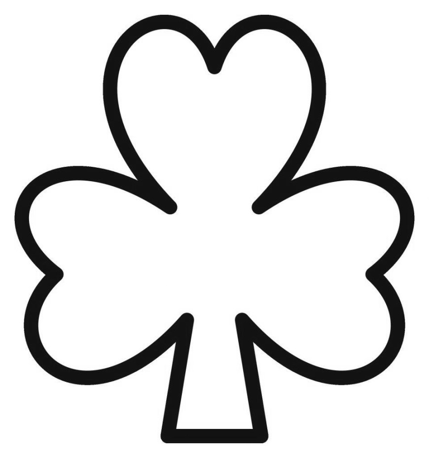 Shamrock Coloring Pages Shamrock Coloring Pages 179 For Adults Free Printable Coloring Pages