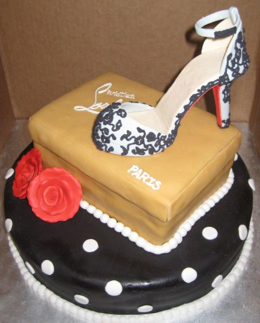Shoe Birthday Cake High Heel Shoe Birthday Cake Cakecentral