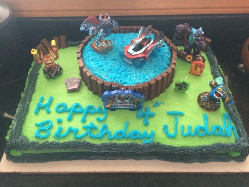 Skylander Birthday Cake Skylander Birthday Cake Skylanders Pinterest Birthday