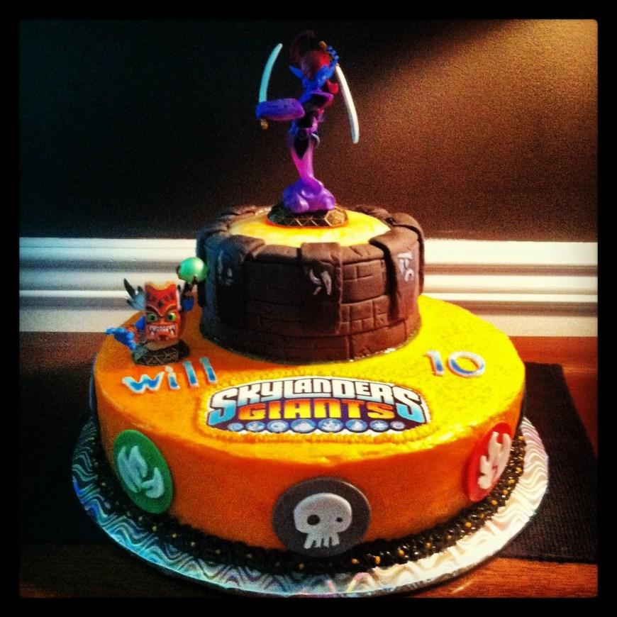 Skylander Birthday Cake Skylander Birthday Cakewhere Do I Get The Skylander Logo Cake