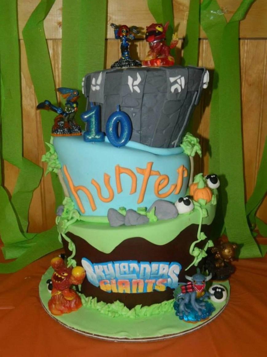 Skylander Birthday Cake Skylanders 10th Birthday Cake Cakecentral