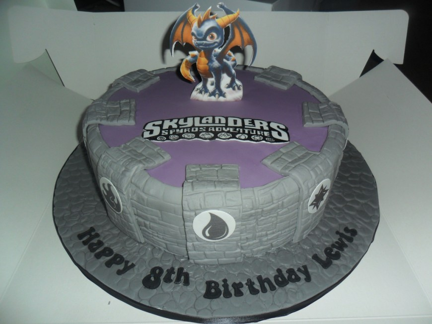Skylander Birthday Cake Skylanders Birthday Cake Elizabeth Flickr
