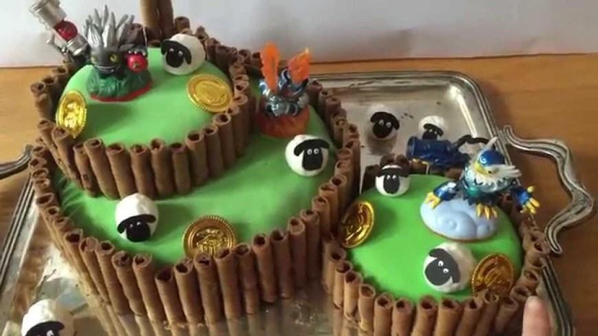 Skylander Birthday Cake Skylanders Cake Youtube