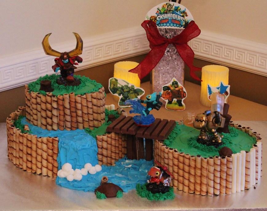 Skylander Birthday Cake Skylanders Trap Team Cakes Cecy Huezo Www