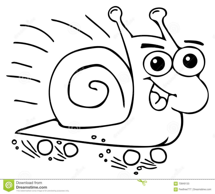 Snail Coloring Page Snail Coloring Colour Pages 4 Futurama