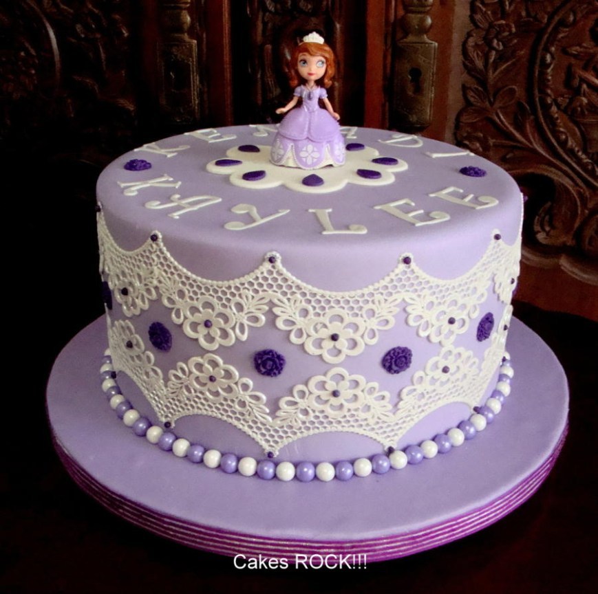 Sofia The First Birthday Cakes Sofia The First Birthday Cake 97 Cakes Cakesdecor