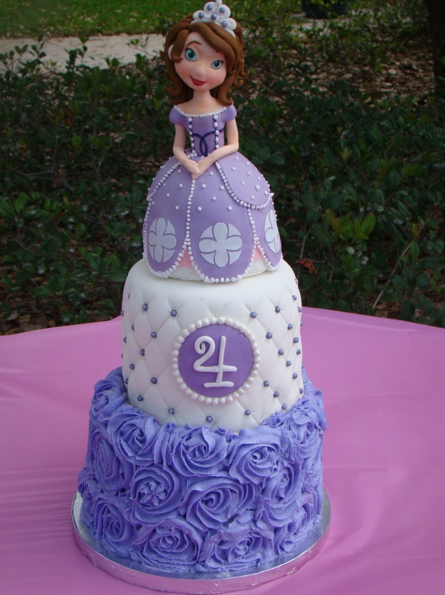 Sofia The First Birthday Cakes Sofia The First Birthday Cake Cakecentral