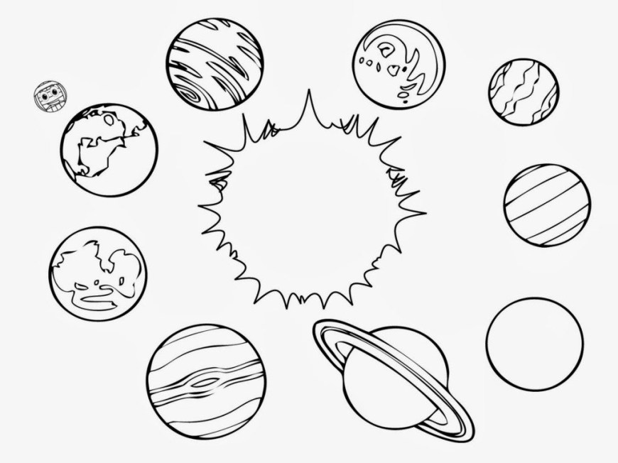 Solar System Coloring Pages Coloring Pages Solar System For Coloring Pages Planets Pji8 Color