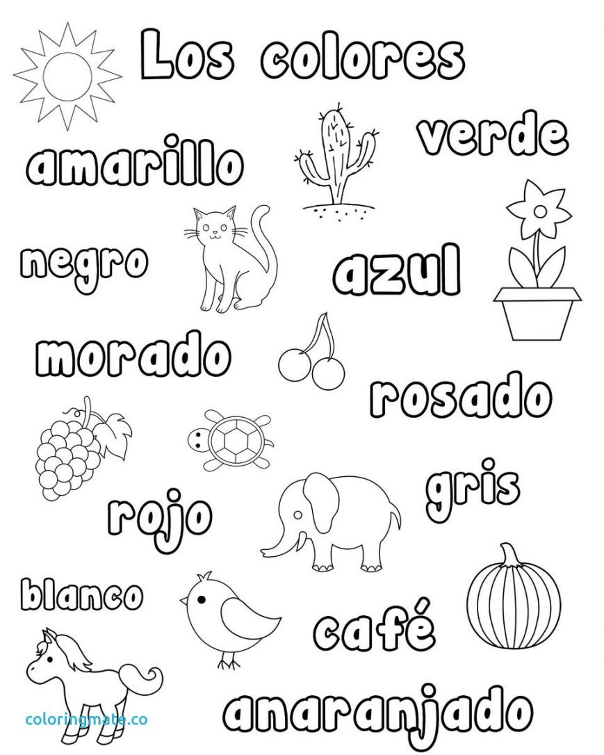 Spanish Coloring Pages Coloring Pages In Spanish Colouring Photos Of Snazzy Incredible