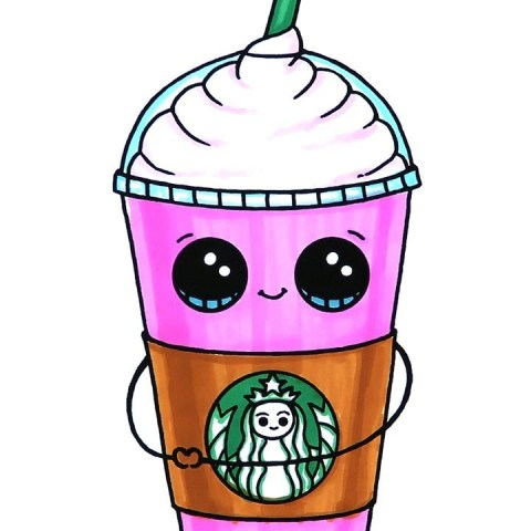 Starbucks Coloring Page Starbucks Frappuccino Coloring Page Youtube