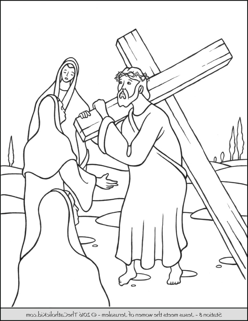Stations Of The Cross Coloring Pages Stations Of The Cross Coloring Pages Dxjz Stations Of The Cross