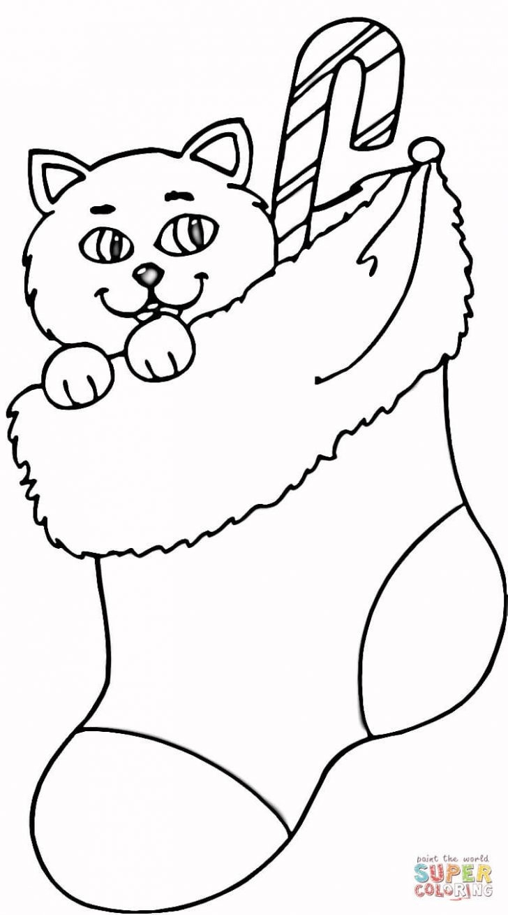 Stocking Coloring Page Stockings Coloring Pages Futurama