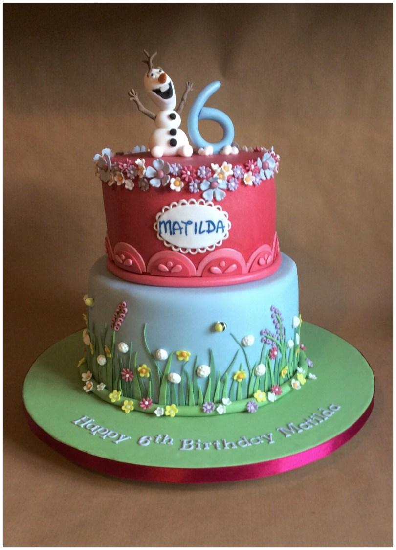 Summer Birthday Cakes Frozen In Summer Birthday Cake Paisleys Frozen Party Pinterest