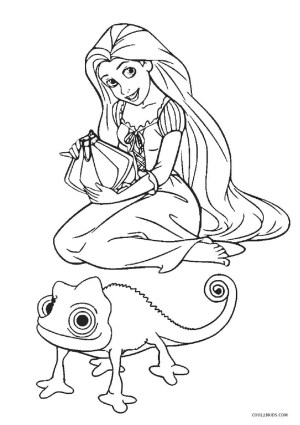 Tangled Coloring Pages Free Printable Tangled Coloring Pages For Kids Cool2bkids
