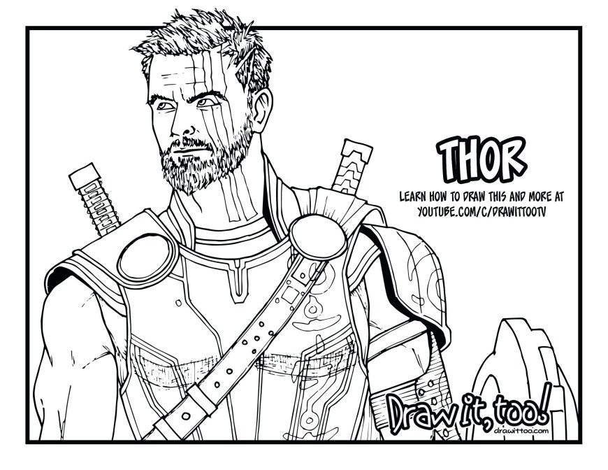 Thor Coloring Pages Thor Coloring Pages 1050c297875 High Definition Wallpaper Download
