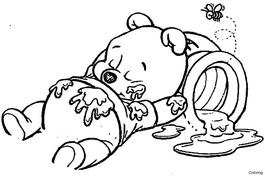 Tigger Coloring Pages Ba Winnie The Pooh Tigger Coloring Pages