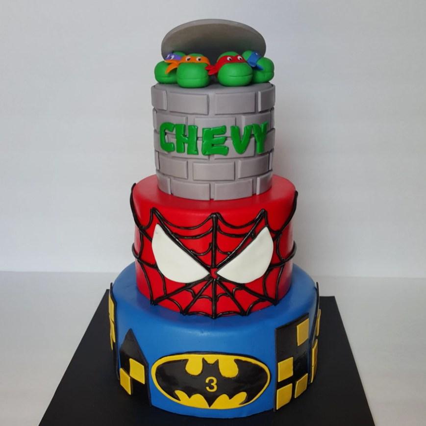 Tmnt Birthday Cake Super Hero Tmnt Birthday Cake Cakecentral