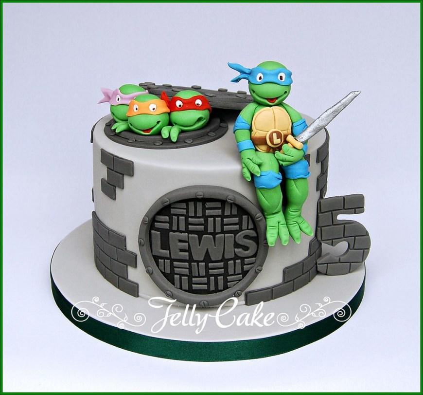 Tmnt Birthday Cake Teenage Mutant Ninja Turtles Birthday Cake A Tmnt Birthday Flickr