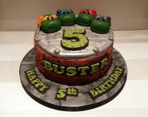 Tmnt Birthday Cake Tmnt Ninja Turtles Birthday Cake Bakealous