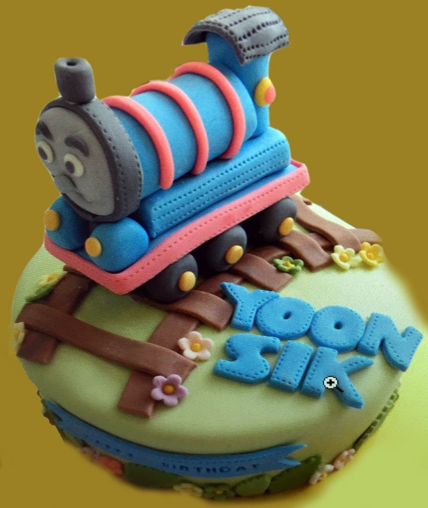 Train Birthday Cake Buy Online The Thomas Train Birthday Cake For Kids At Best Prices