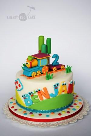 Train Cakes For Birthdays Bob The Train Cake Cherry Red Cake Pinterest Cake Birthday