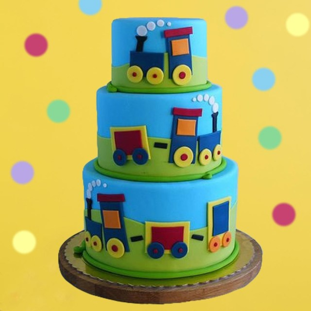 Train Cakes For Birthdays Choo Choo Train Birthday Cake