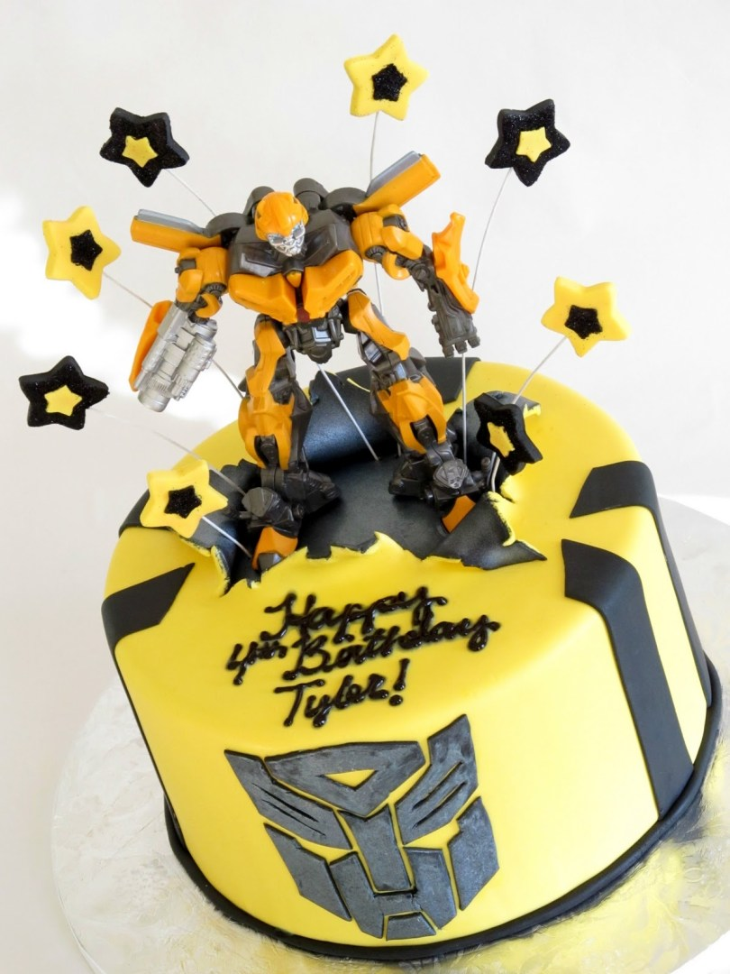 Transformers Birthday Cake Transformers Bumblebee Cake Renee Conner Cake Design