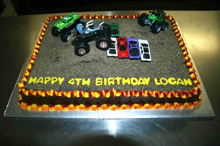 Truck Birthday Cake Monster Truck Cakes Decoration Ideas Little Birthday Cakes