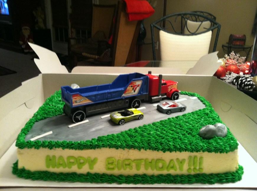 Truck Birthday Cake Pinterest