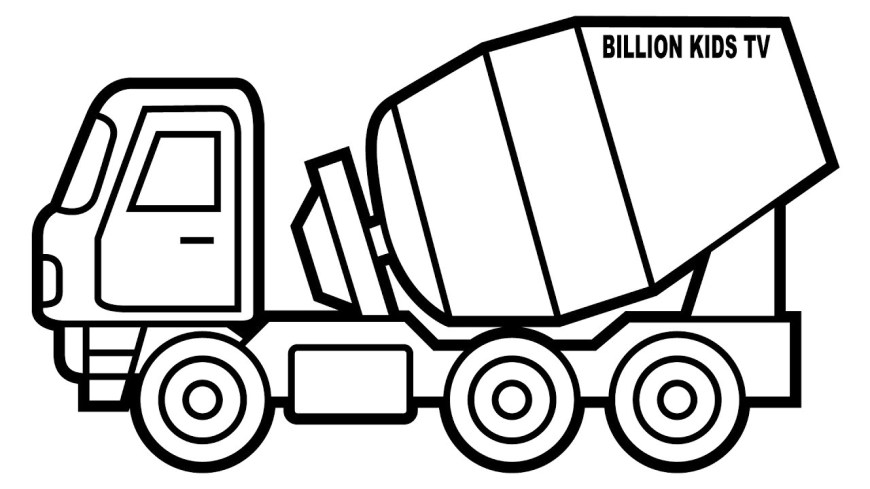Trucks Coloring Pages Maxresdefault Truck Coloring Pages Telematik Institut