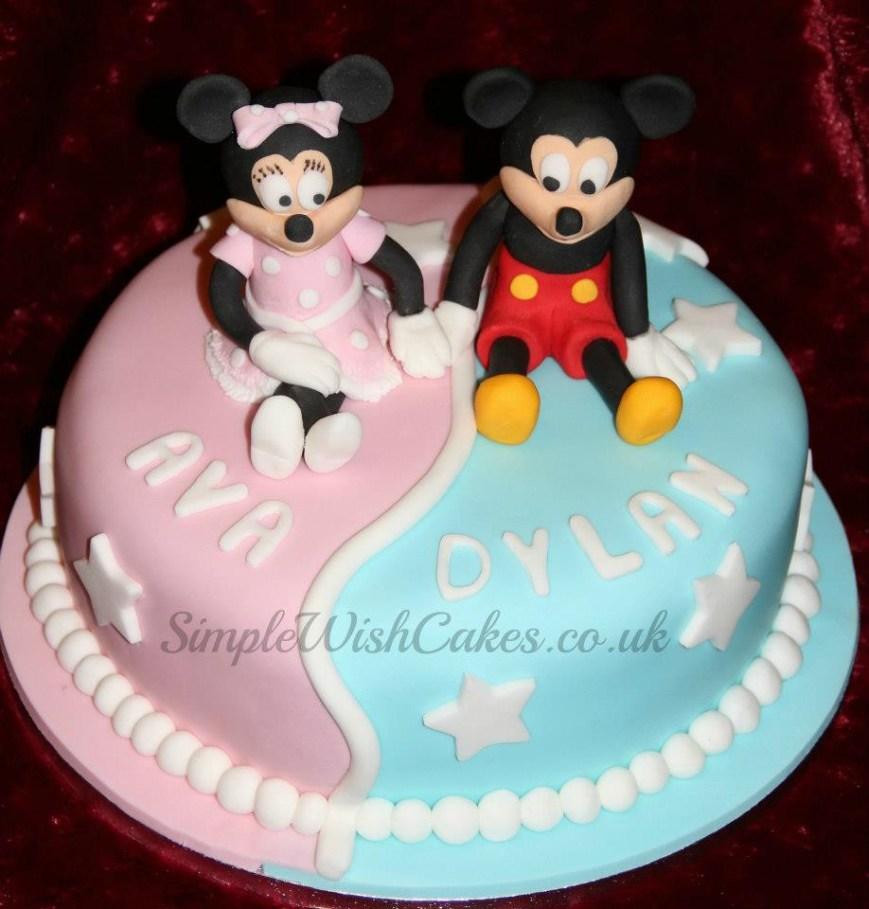 Twins Birthday Cake Twins Birthday Cakes