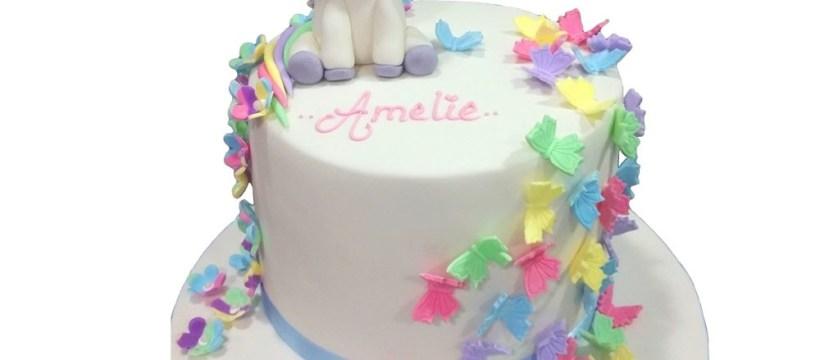 Unicorn Birthday Cake My Little Unicorn Birthday Cake
