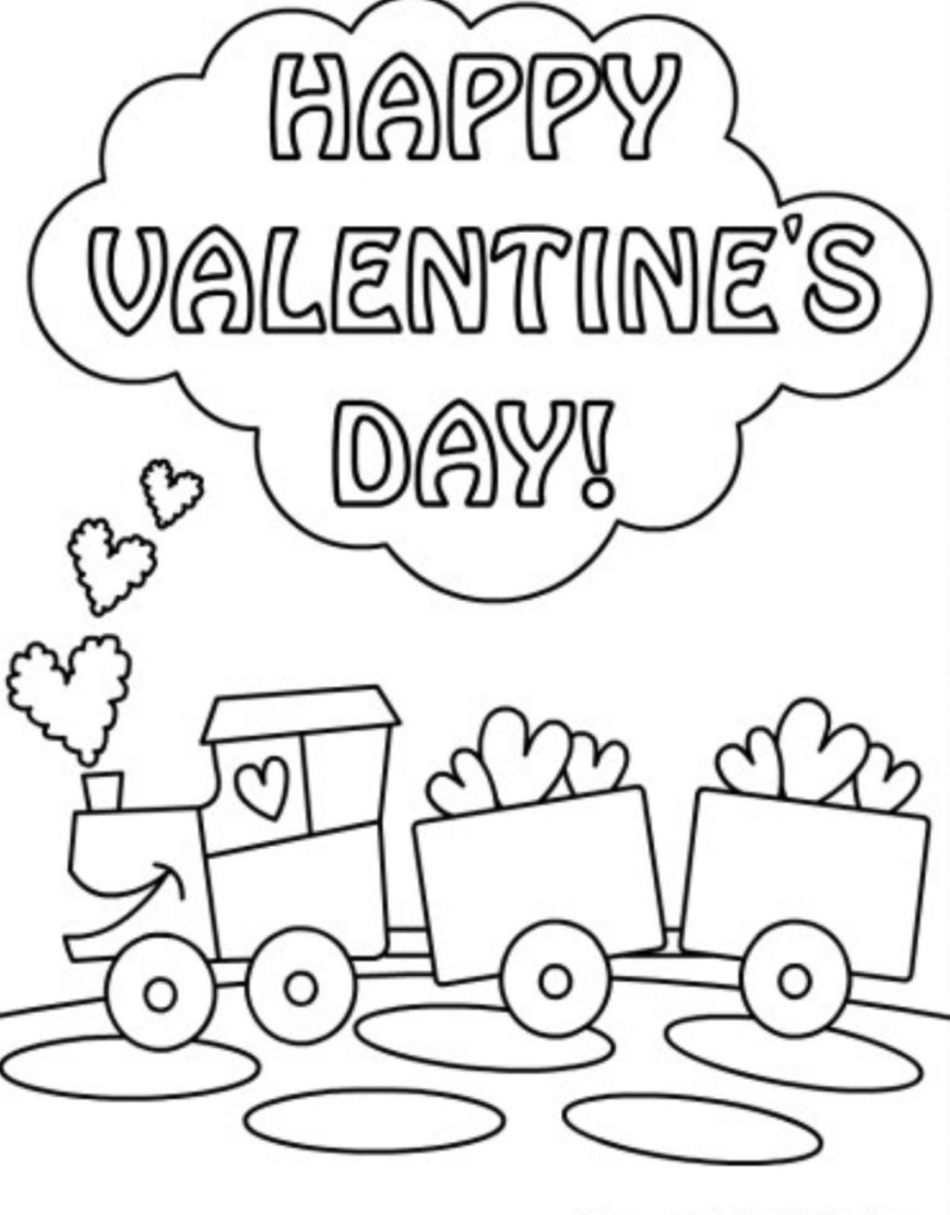 Valentine Day Coloring Pages Coloring Pages Valentine Day Coloring Pages With Within Valentines