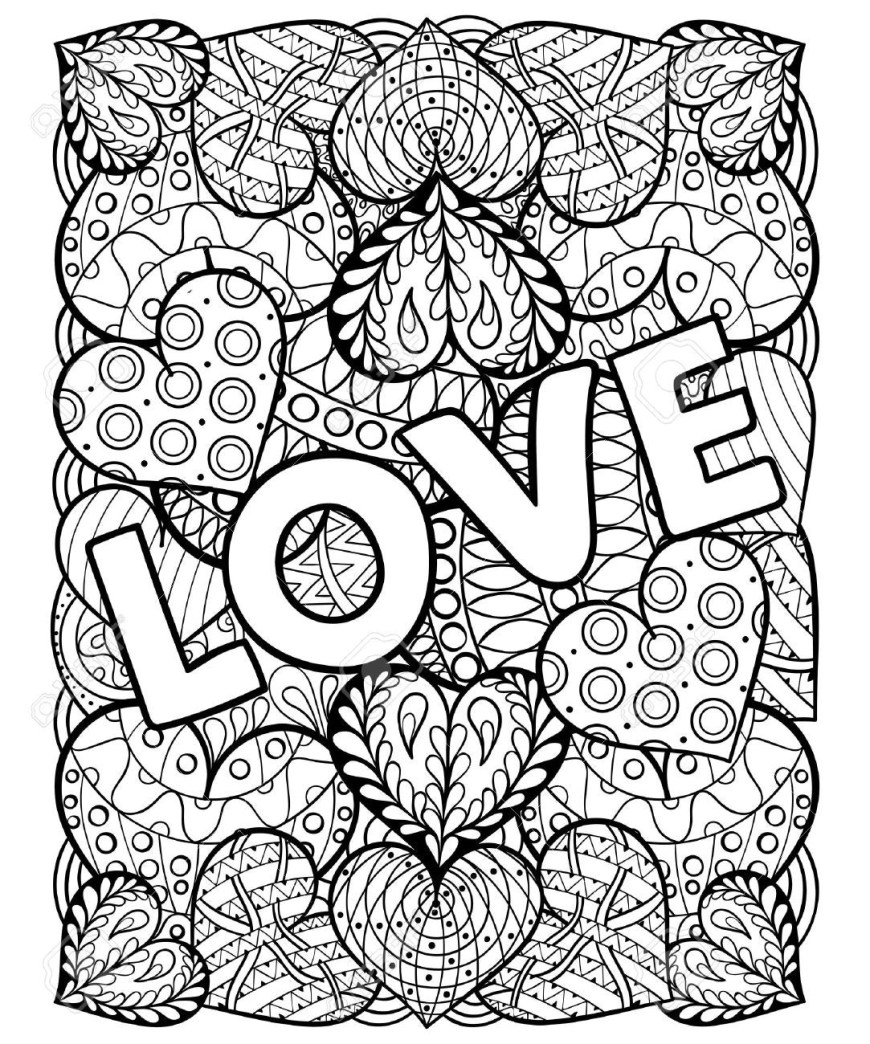 Valentine Day Coloring Pages Valentines Day Coloring Pages For Adults 51 With 0 Futurama