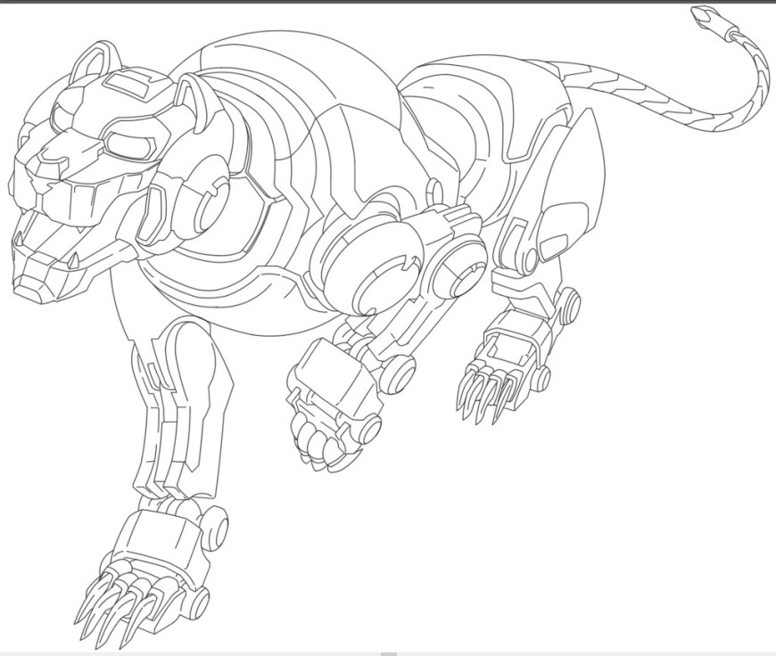 Voltron Coloring Pages Voltron Coloring Pages Free Homesecurityla